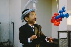 balloon spiderman hat  by balloon artist Perry Yan-www.Pymagic.com