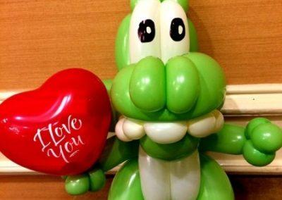 balloon-dinosuar-by-balloon-twister-Perry-Yan-www.Pymagic.com_